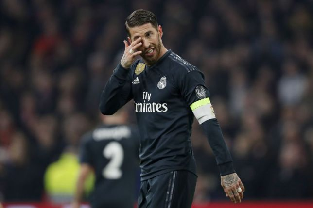 Sergio Ramos, Yellow Card, UCL,