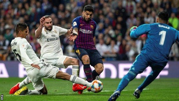 Suarez, Real Madrid, Barcelona,