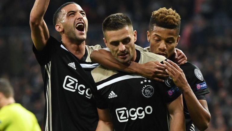 Ajax, Real Madrid, UCL,