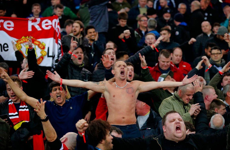 Man United Fans, PSG, Paris, UCL, UEFA,