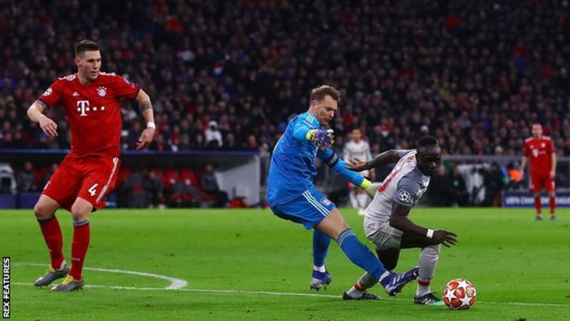 Mane, Liverpool, Bayern Munich, UCL,