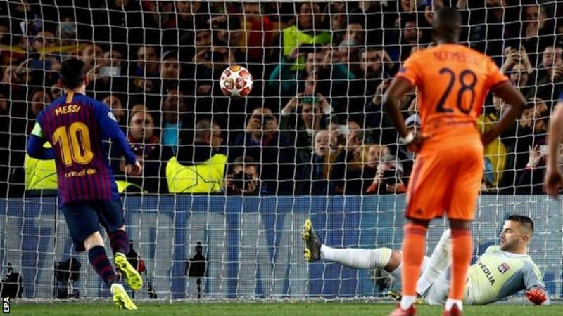 Messi, Lyon, UCL, Barcelona,