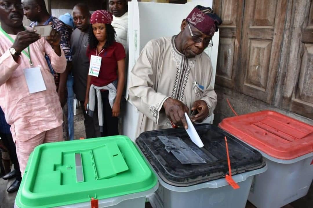 OBJ Votes, Olusegun Obasanjo, 2019 PRESIDENTIAL Election,