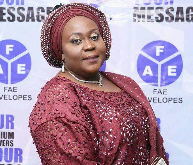 Princess Layo Okeowo, CEO FAE Ltd