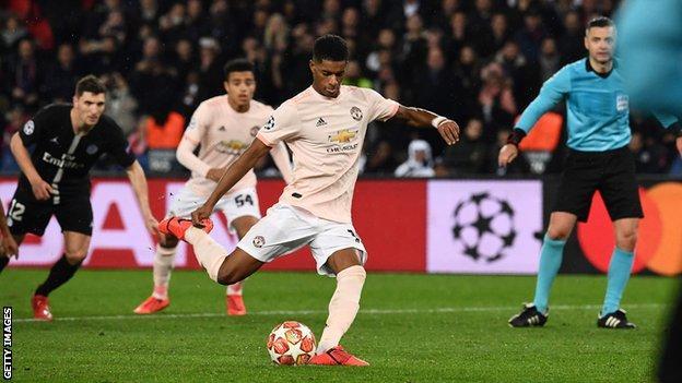 UEFA, Neymar, Rashford, Manchester United, UCL, PSG