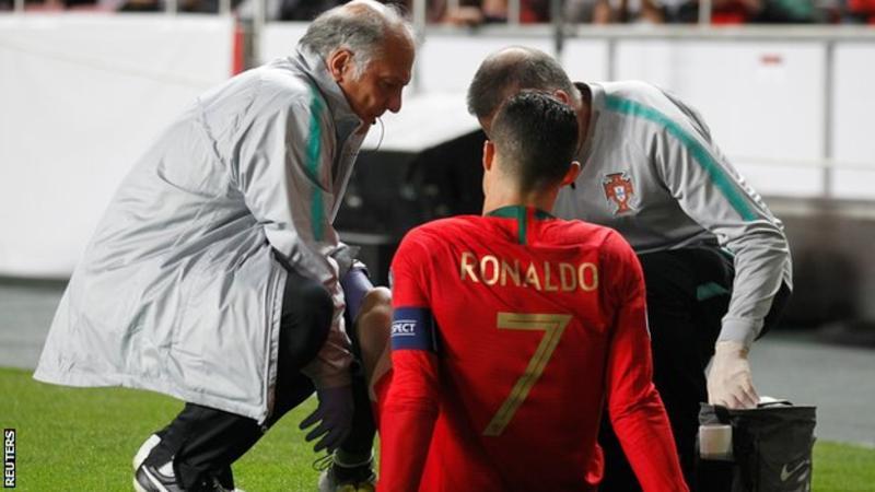 Ronaldo, Injury, Portugal,