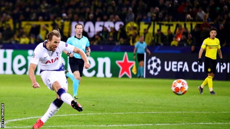 Tottenham, Dortmund, Son, Harry Kane
