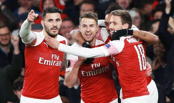 Arsenal vs Napoli, Europa-League