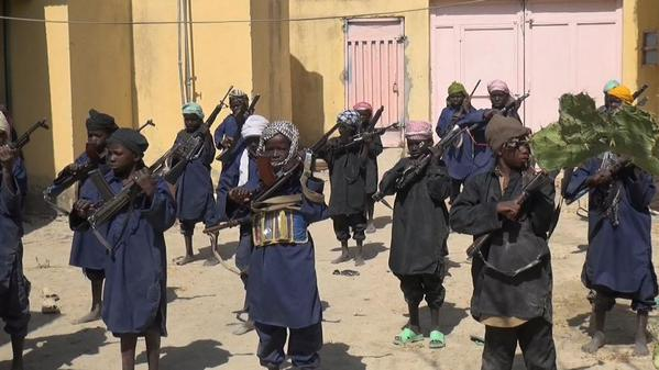 Boko Haram, child-soldiers training, UNICEF,