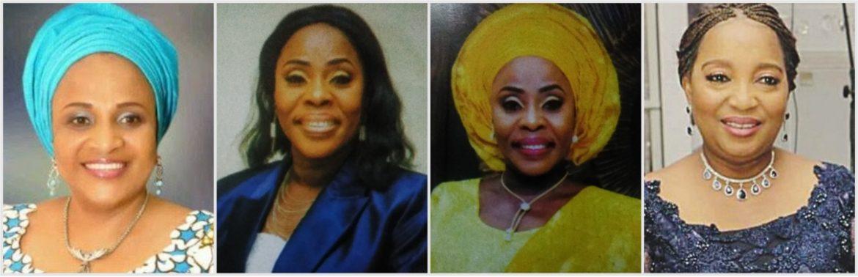 Oyo 1st lady, CARO OLUPITAN, GENNY ADESOUN, YEMISI FAKOREDE
