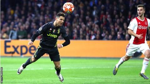 Ronaldo, Ajax, UCL,