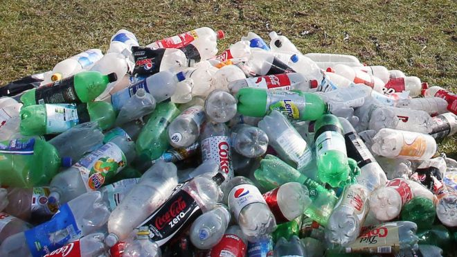 Waste Plastic Bottles,