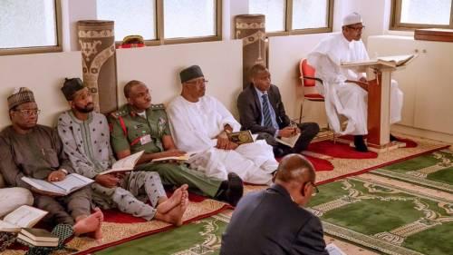 Aso Rock, Buhari, Chief Imam,