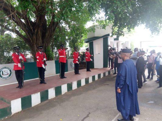 Dapo Abiodun, Ogun governor office