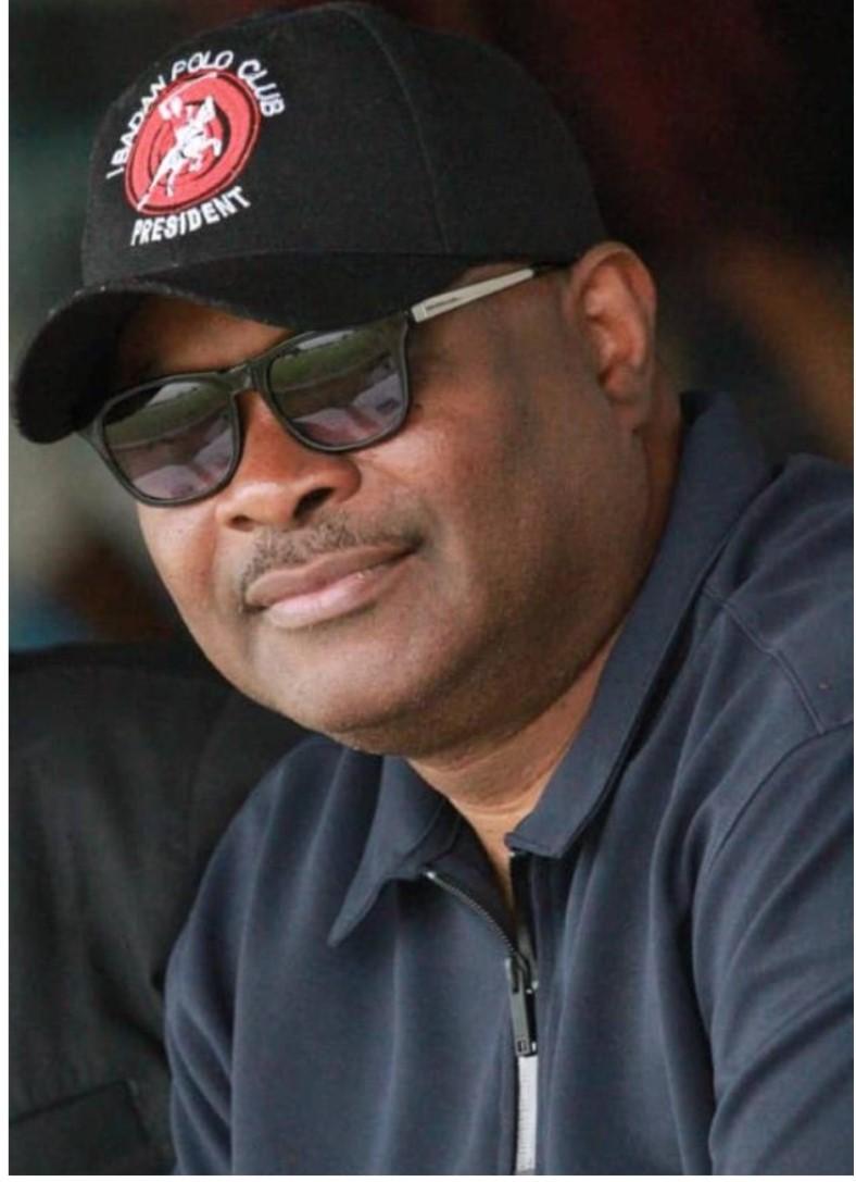 Femi Akerele, Ibadan Polo Club President,