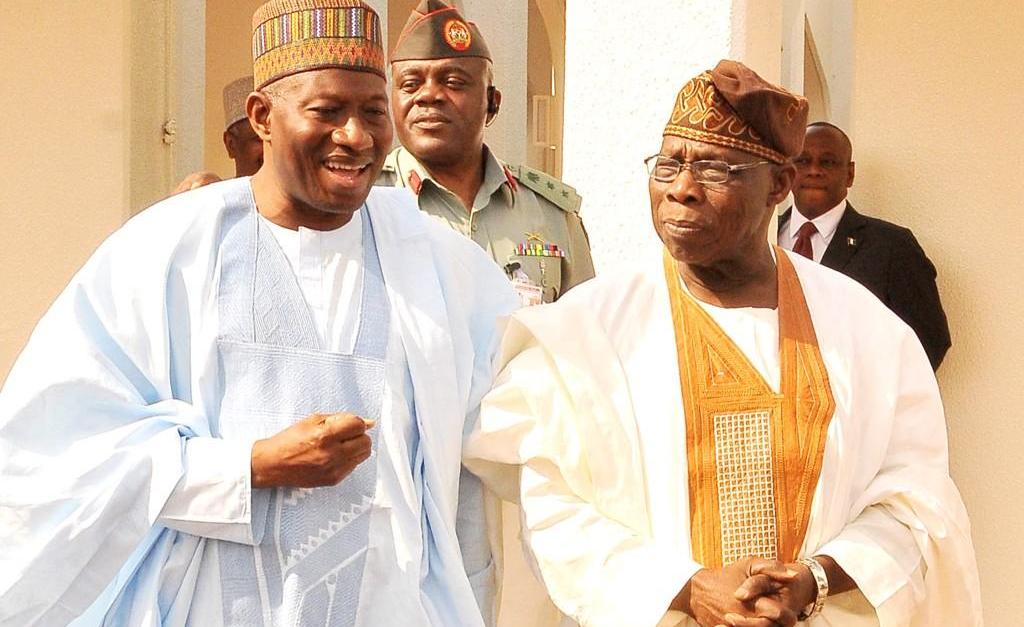 Jonathan, Obasanjo, Buhari,