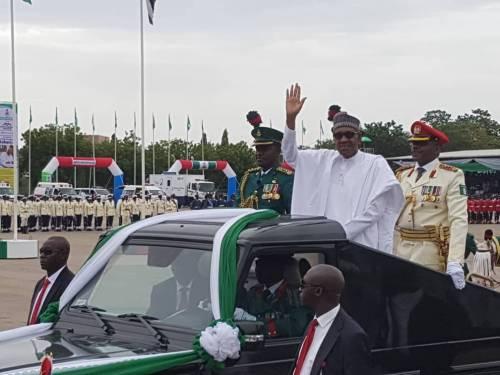 Pres Buhari's Inauguration, PDP,