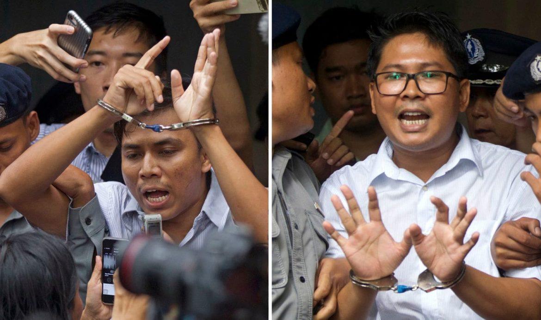 Reuters, Journalists, Myanmar,