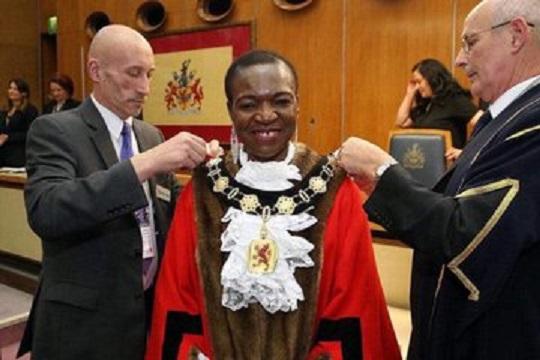 Victoria Obaze, UK Mayor,