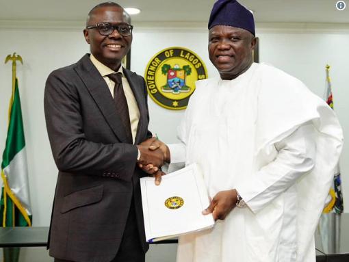 Sanwo-Olu, Ambode, Lagos state Inauguration,