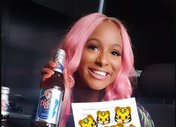 DJ Cuppy, Tiger beer,