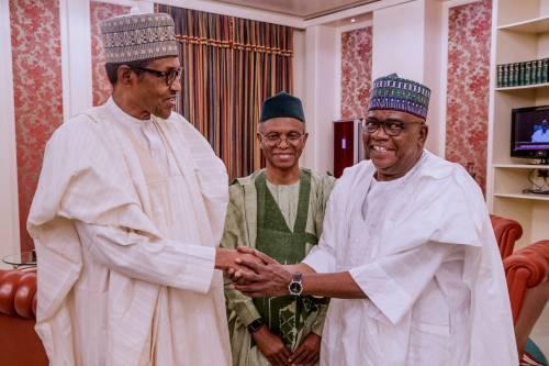 Danjuma Goje, Pres Buhari