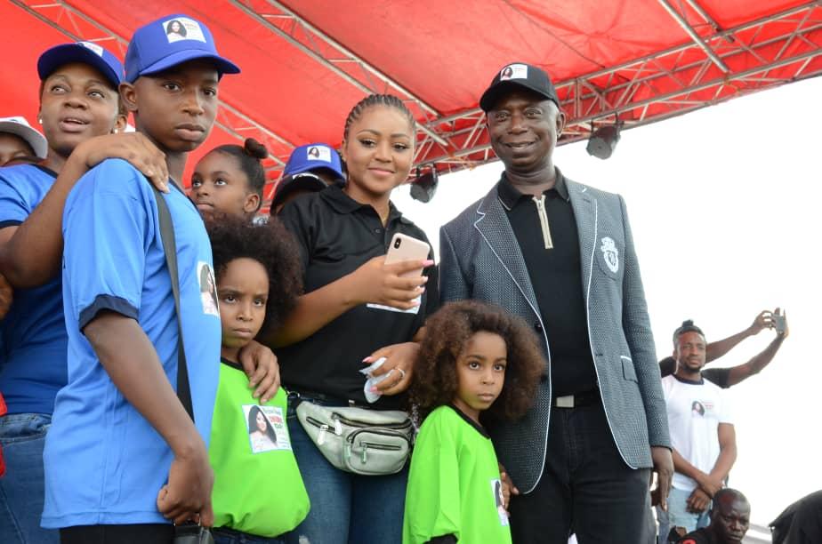 Regina Daniels, Ned Nwoko, Childresn's Day Carnival