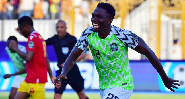 Kenneth Omeruo, Nigeria, Guinea, AFCON 2019,