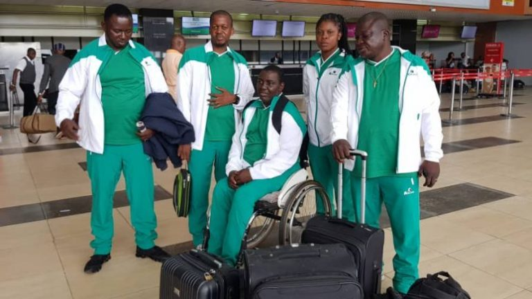Team Nigeria, table tennis para