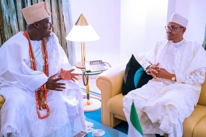 Ooni, Muhammadu Buhari, Oba Adeyeye Ogunwusi