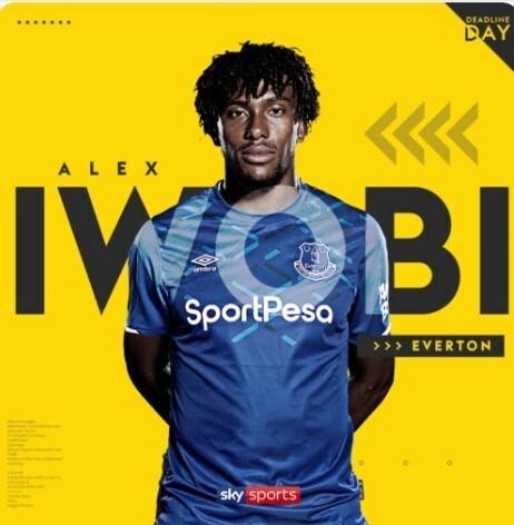 Alex Iiwobi, Everton, Arsenal