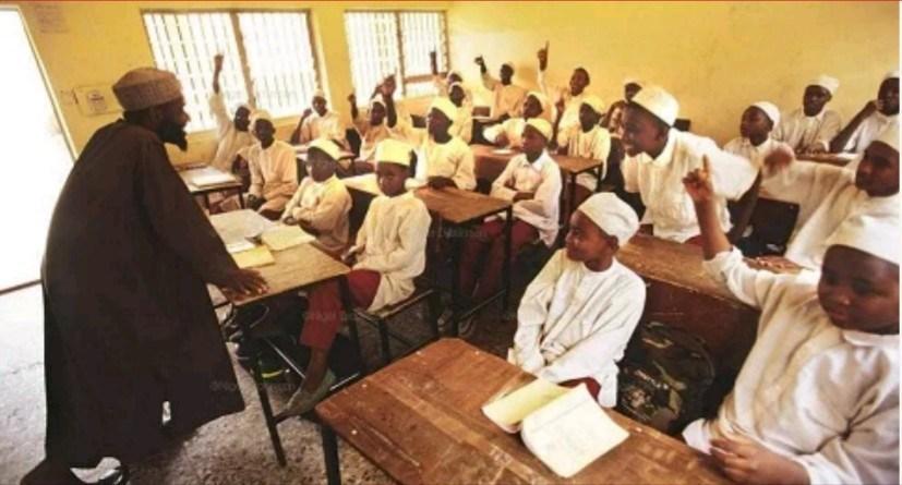 Almajiri School, Gombe