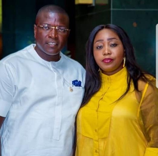 Dr Kenedy Okonkwo & Wife, 2019 City People Real Estate Awards,