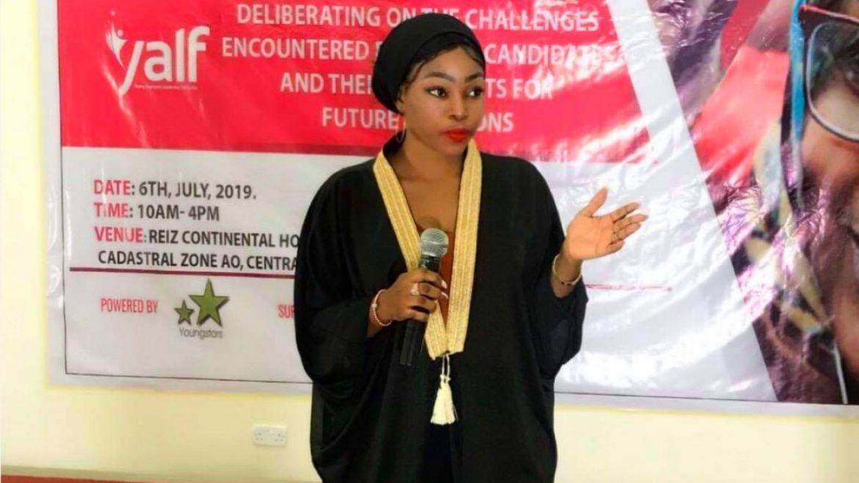 Fareedah Okuonla Abiola Female Politicians, Sex,
