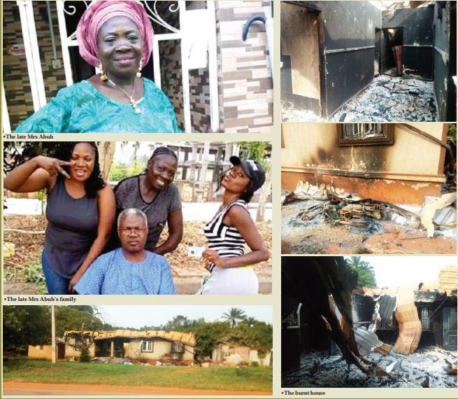 Burnt PDP Women's Leader, Kogi,