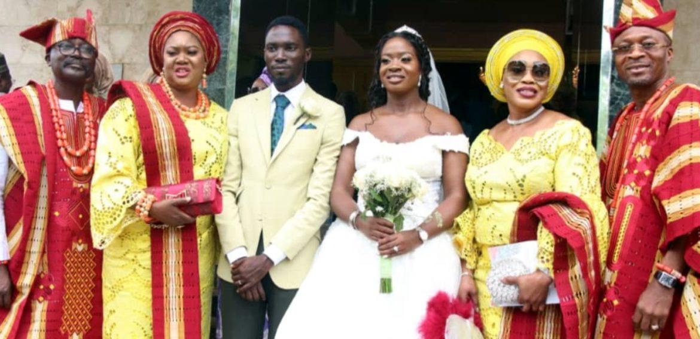 GBENGA OLADIPO Weds Beau ELIZABETH,