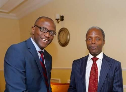 Laolu Akande, VP Osinbajo,