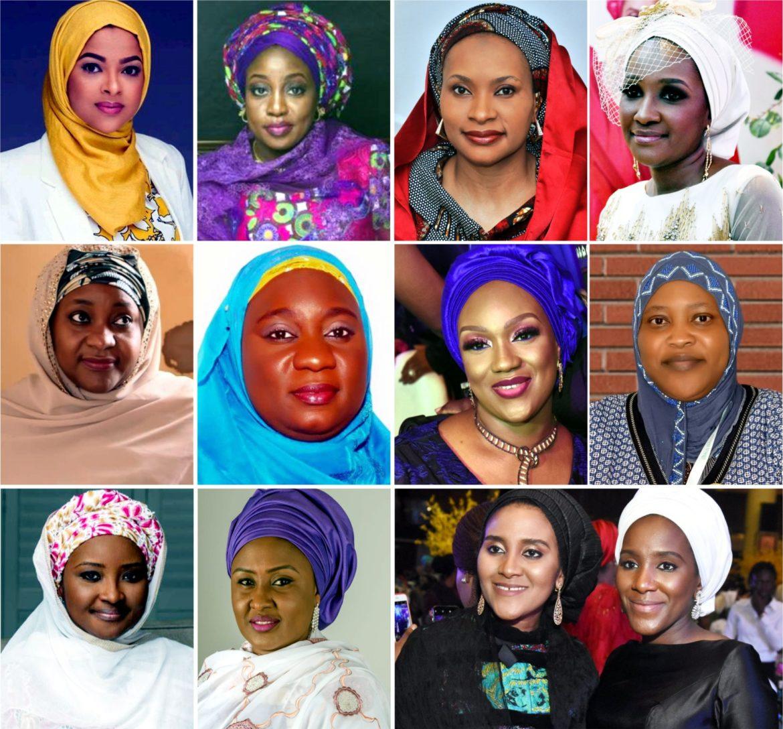 Wives of Hausa/Fulani Rich Men
