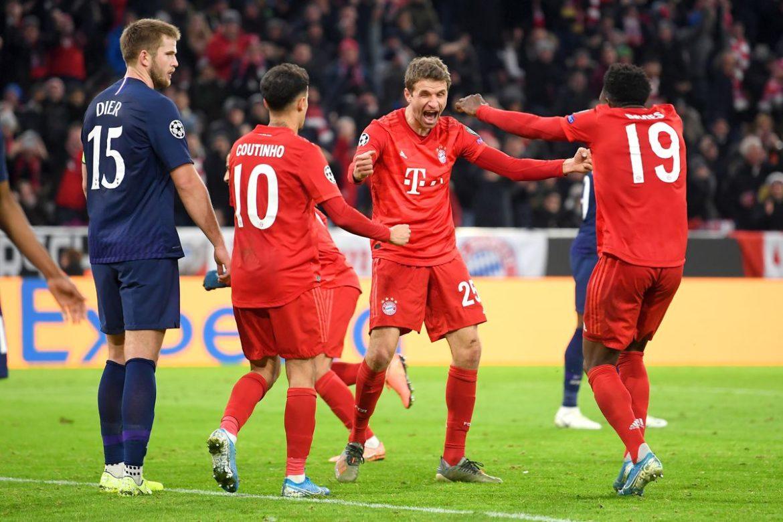 Tottenham, Bayern Munich, UCL,