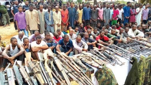 Bandits, Ammunitions, Zamfara,