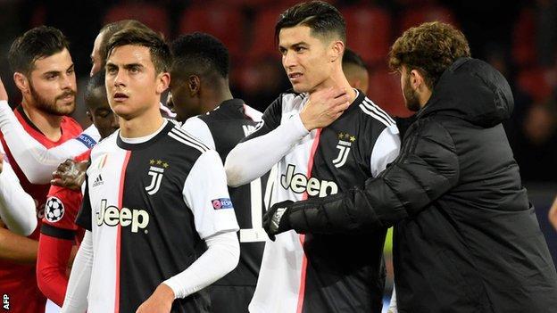Ronaldo, Juventus, Dybala, UCL