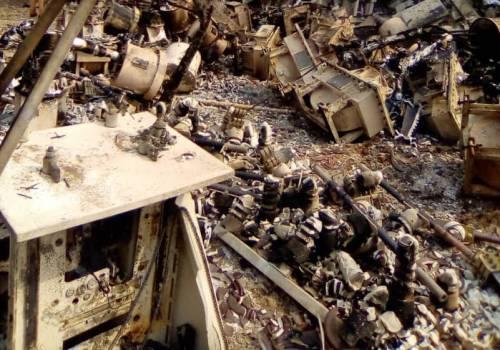 Abandoned Power Station, Oke Agbe, Akoko, Ondo State,