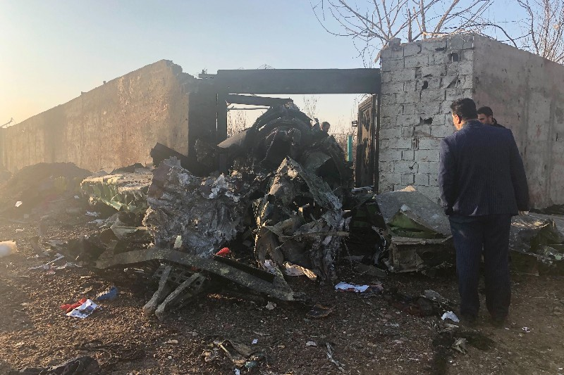 Ukranian Plane crash, Iran,