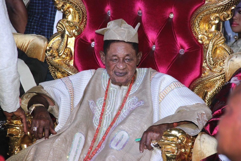 Alaafin, Oba Lamidi Adeyemi, Maiyegun of Yorubaland, K1,