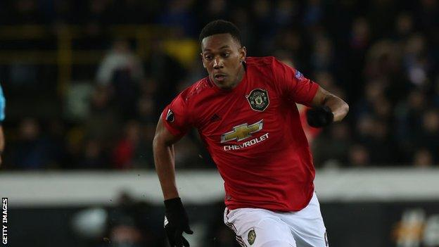 Anthony Martial, Europa League,