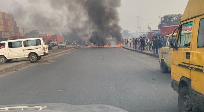Clash, Iyana Ipaja, Okada, Police,