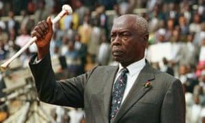 Daniel Arap Moi, Kenya,