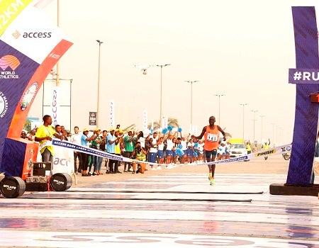 David Bamasai, Access Bank Lagos Marathon