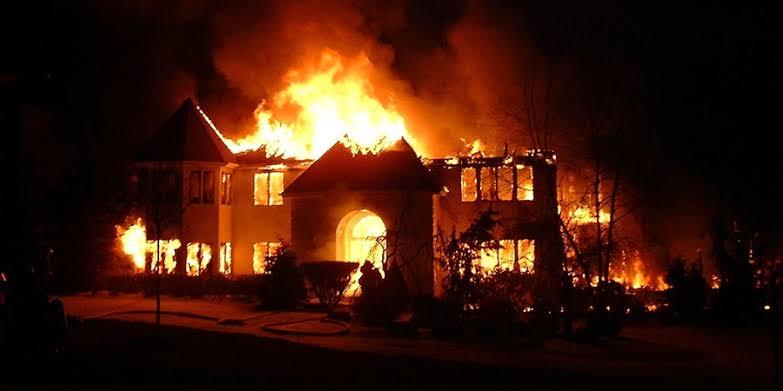 Fire, RRS Hradquarters, Alausa Lagos,