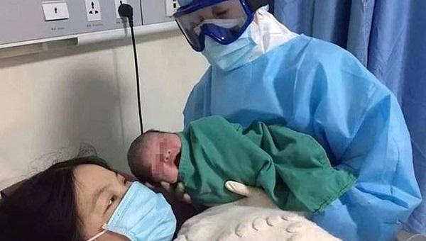 Newborn baby, Coronavirus,